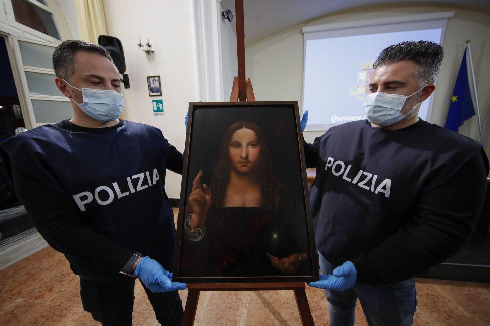 A Naples Museum Had No Idea a Copy of da Vinci's 'Salvator Mundi' Had Been Stolen
