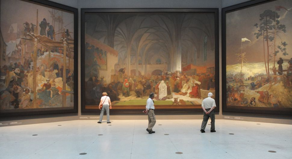 Alphonse Mucha's Monumental, 20-Canvas 'Slav Epic' Will Finally Have a Permanent Home