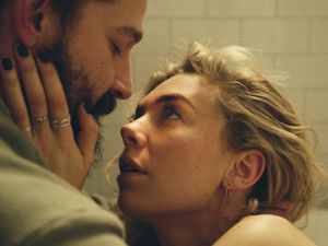Shia LeBeouf as Sean and Vanessa Kirby as Martha in Pieces of a Woman