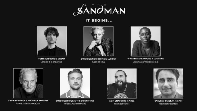 Netflix The Sandman Cast Info Details