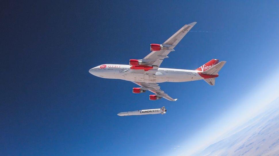 Watch Virgin Orbit Launch 1st 2021 Rocket Under a Boeing Plane Sunday