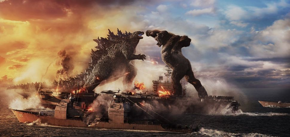 'Godzilla vs. Kong' Delivers a Gloriously City-Crunching Spectacle