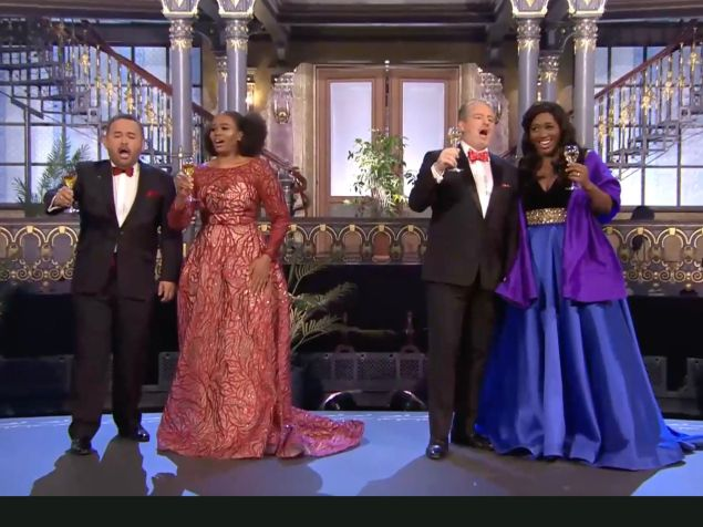 Sopranos Angel Blue and Pretty Yende and tenors Javier Camarena and Matthew Polenzani ring in the New Year.