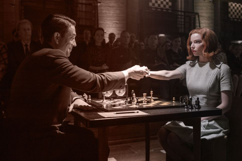 The Seedy Chess World of 'Queens Gambit' Is the Show's Masterstroke