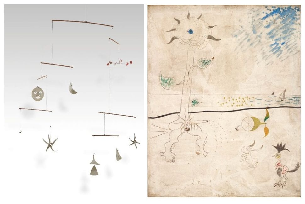 A Delicate Calder Mobile of the Cosmos and the Oceans is Going Up for Auction