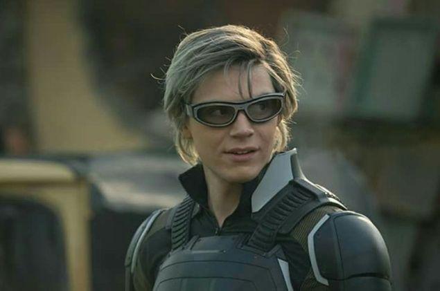 Evan Peters played Wanda's brother, Quicksilver, in Fox's X-Men films