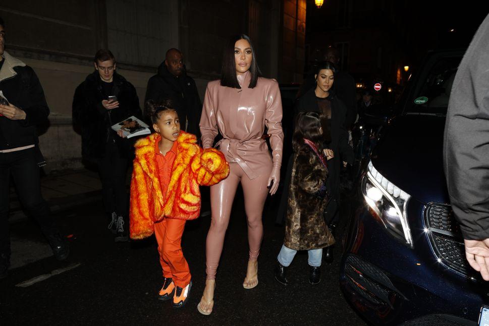 Kim Kardashian Dresses Down Everyone Doubting North West's Painting Skills