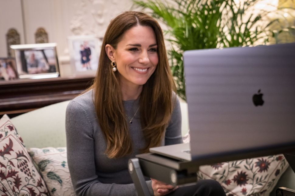 Kate Middleton's Royal Home Office Now Includes Influencer-Approved Lighting
