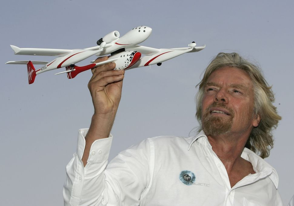Richard Branson's Space Tourism Dream Meets Rejection From Virgin Partner