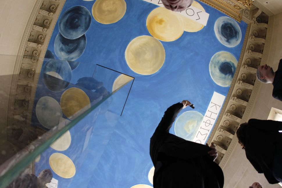Cy Twombly's Louvre Ceiling Has Been Altered Without Permission, Foundation Claims