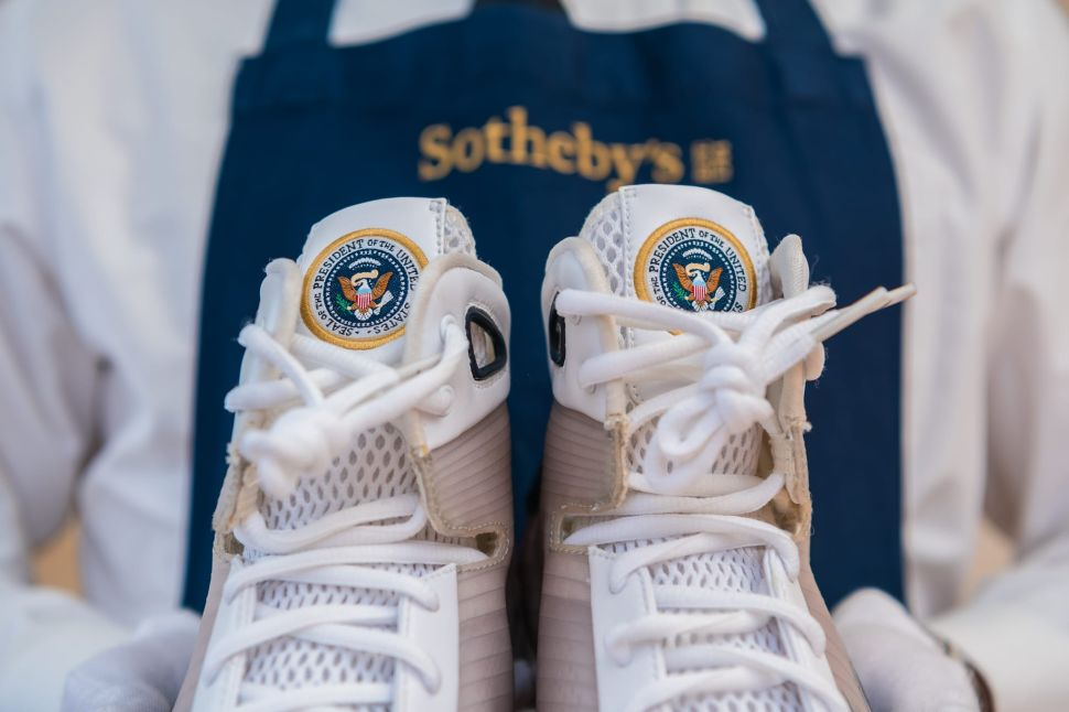 Presidential Nikes That Were Made for Barack Obama are a Relic of a Very Recent Past