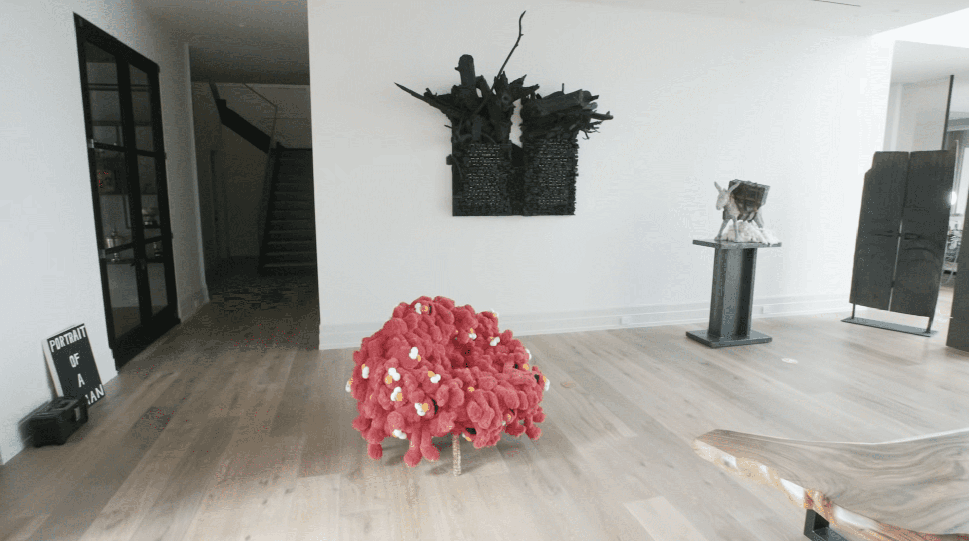 Tennis Pro Serena Williams Shows Off the Contemporary Art Gallery in Her New Home
