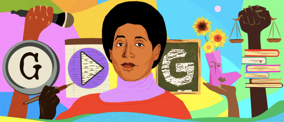 "Today's Google Doodle Honors ""Black, Lesbian, Mother, Warrior, Poet"" Audre Lorde"