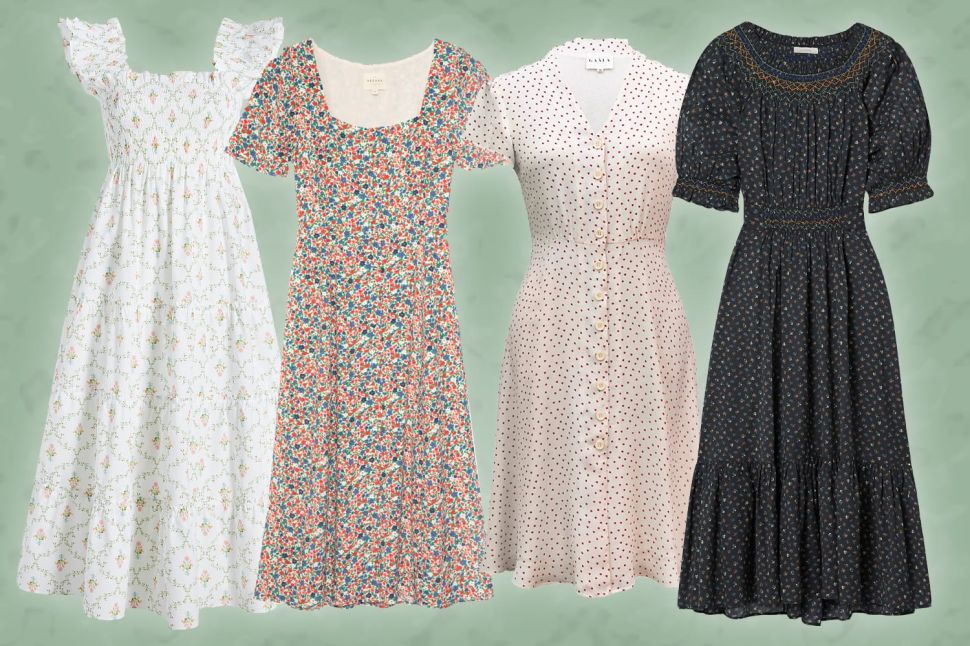 The Best Cottagecore House Dresses You'll Want to Live in This Spring
