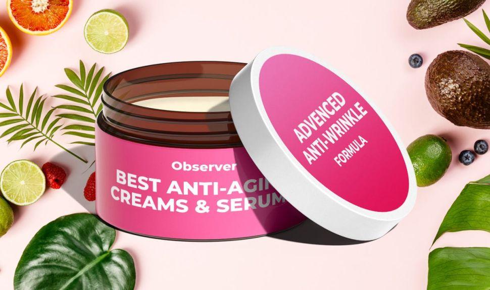 8 Best Anti-Aging Creams & Serums To Reduce Face Wrinkles