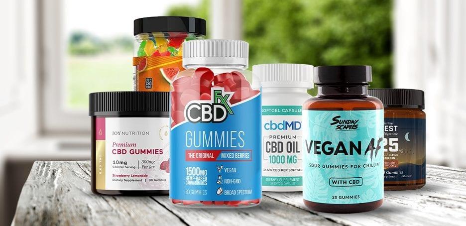 Best Hemp Gummies & CBD Gummy Bears of 2021