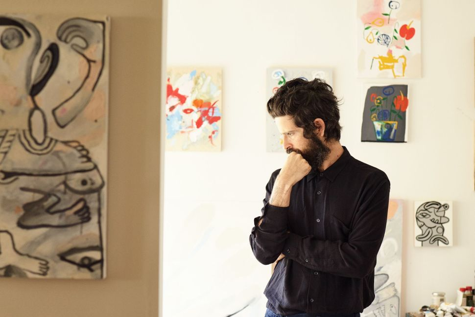 Devendra Banhart's First Solo Exhibition in Los Angeles Opens