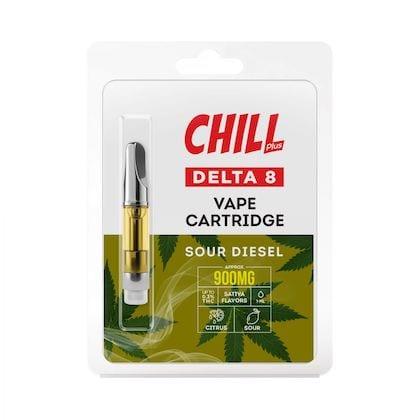 Diamond CBD Chill Plus Delta-8 Vape Carts