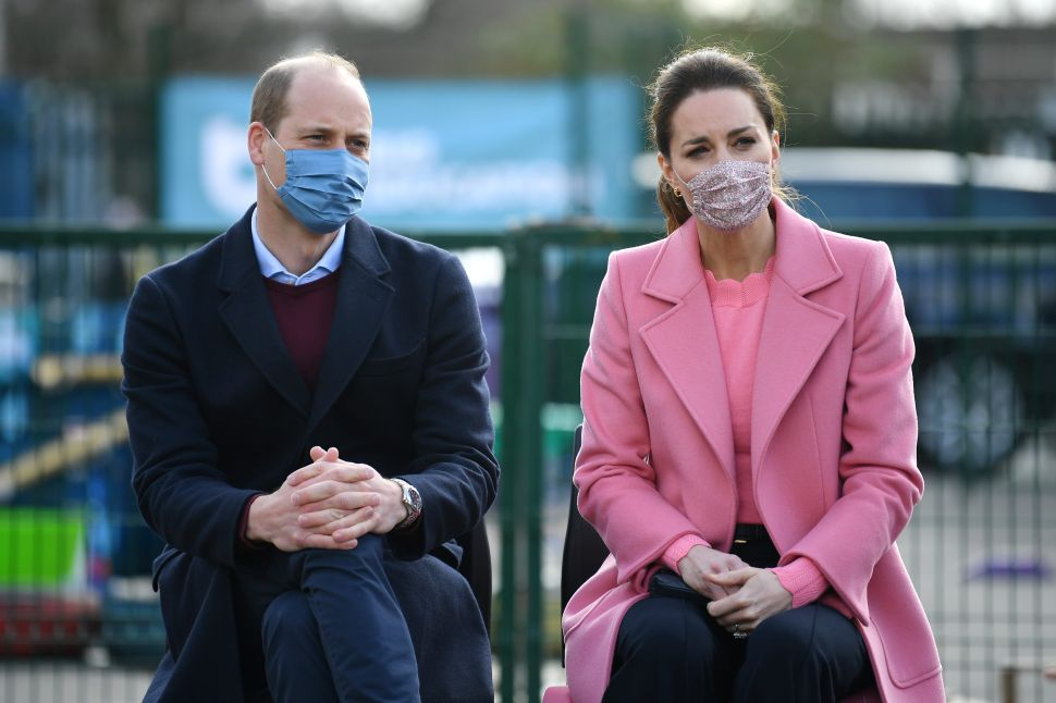 """Prince William Says the Royals Are """"Not a Racist Family"""""""