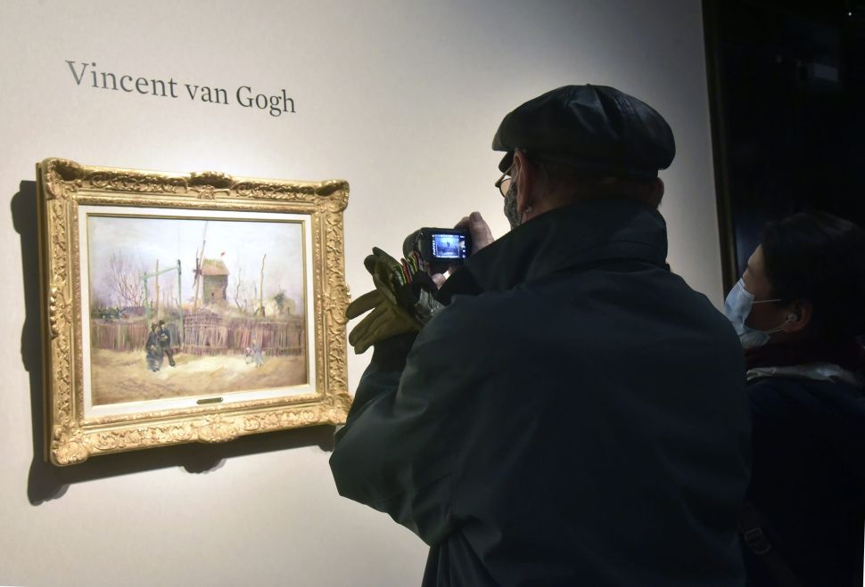 Van Gogh's 'Street Scene in Montmartre' Has Sold at Auction for $15.4 Million
