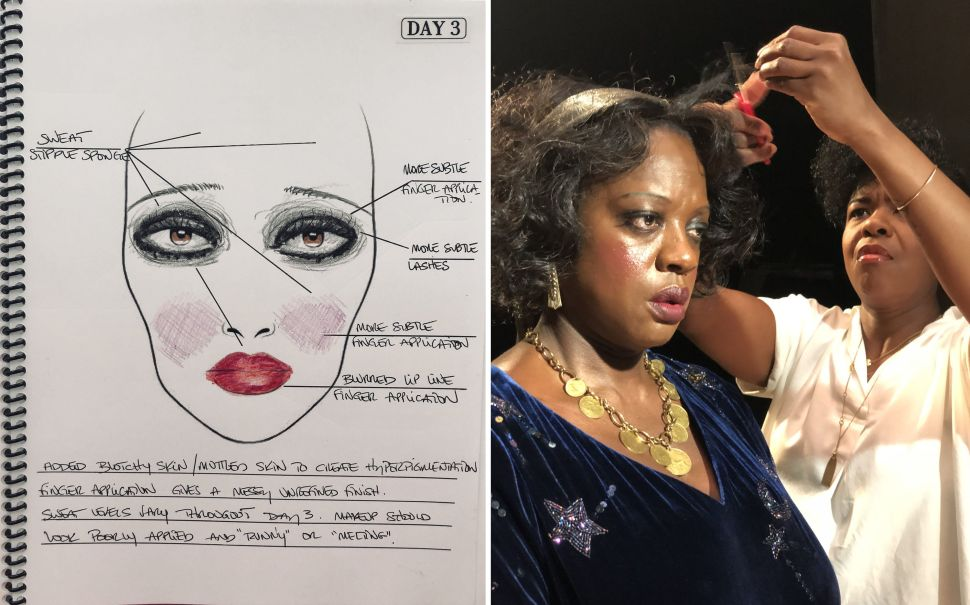 How Ma Rainey's Hair and Makeup Team Transformed Viola Davis and Made History