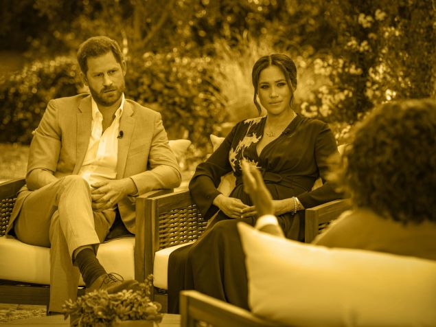 Prince Harry and Meghan Markle sat down with Oprah for a shocking interview