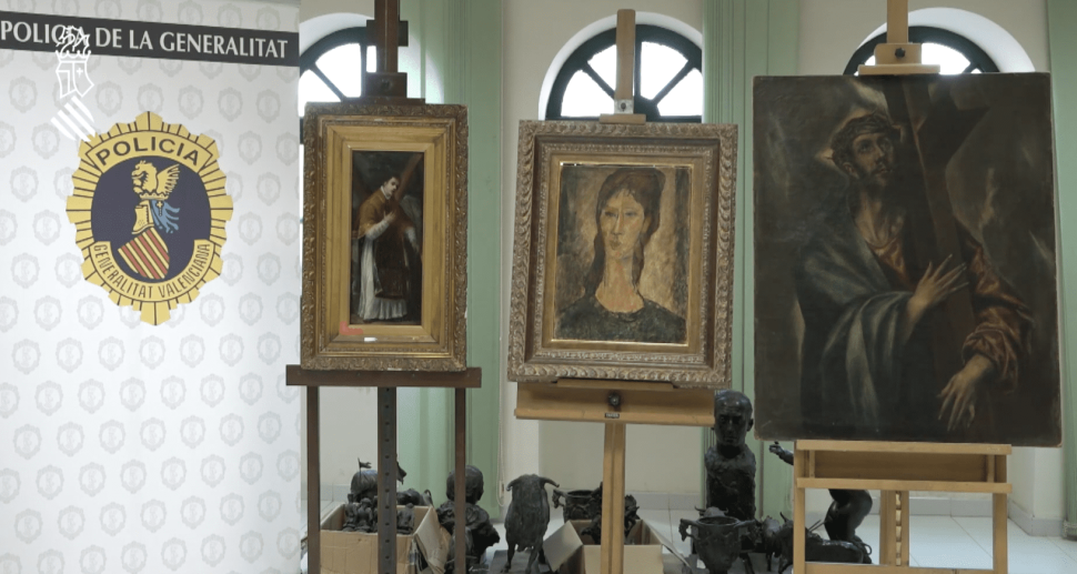 Fake Paintings Attributed to Modigliani, Goya and El Greco Have Been Seized in Spain