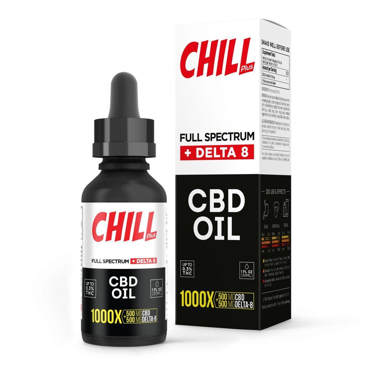 Diamond Chill Plus D-8 CBD Oil