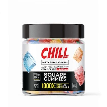 Diamond Chill Plus Delta Force Gummies 1000X