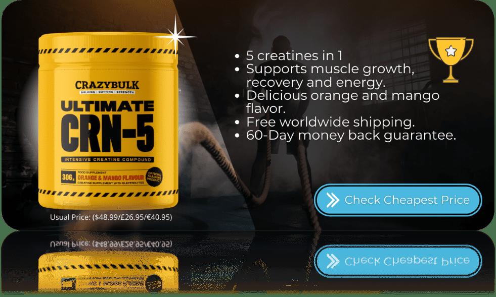 Best Creatine Supplement Ultimate CRN-5