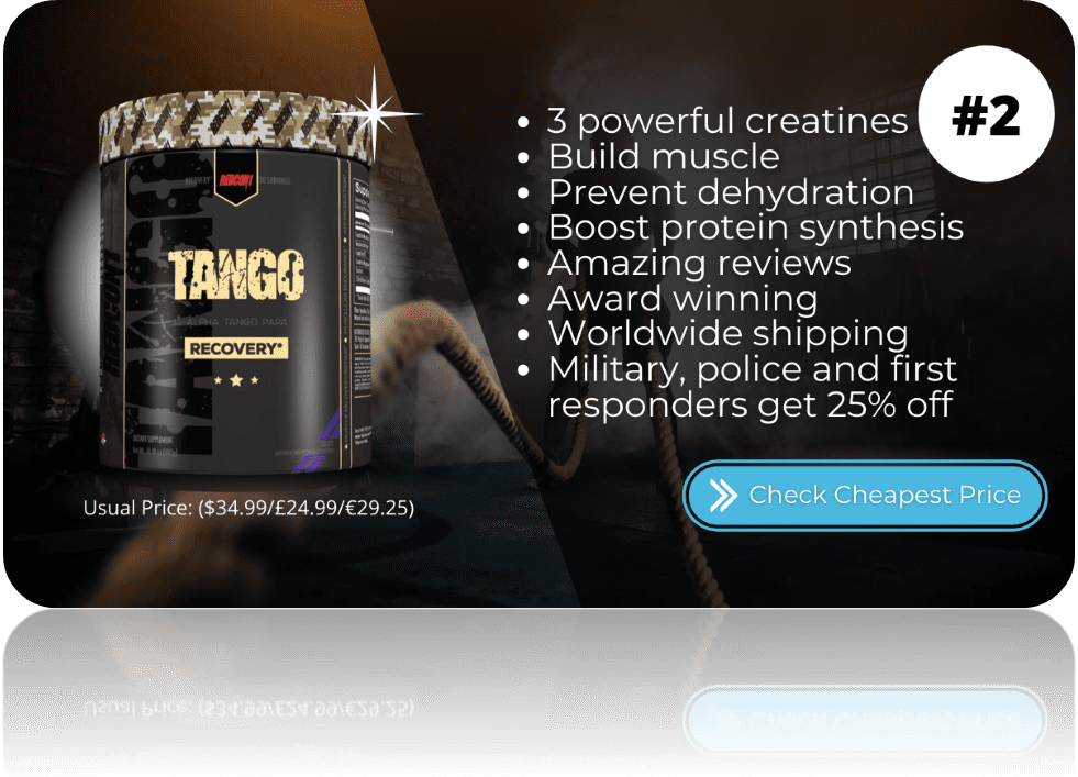 Best Creatine Supplements Tango Redcon1