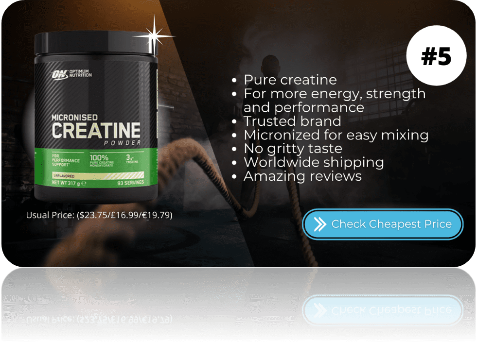 Best Creatine Supplements Optimum Nutrition
