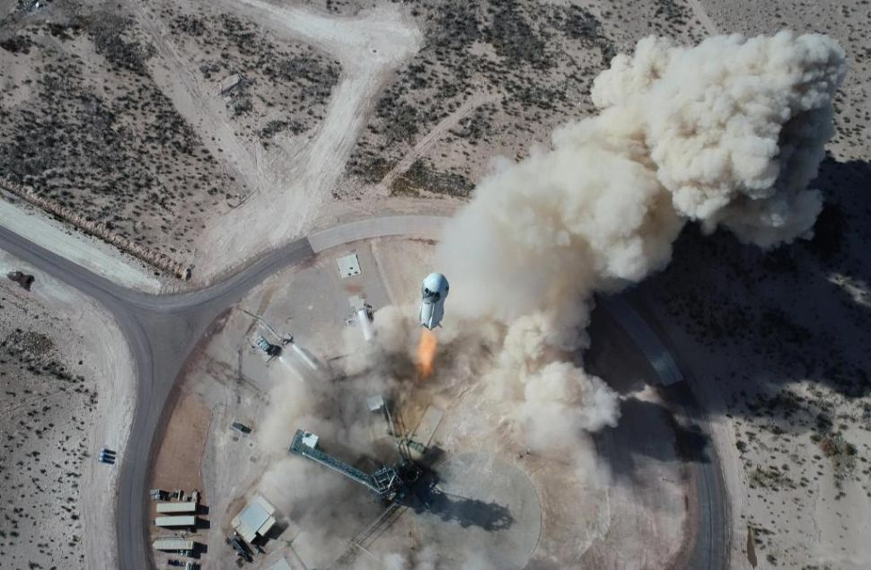 Jeff Bezos' Rocket Company Is 'Very, Very Close' to Launching Tourists Into Space