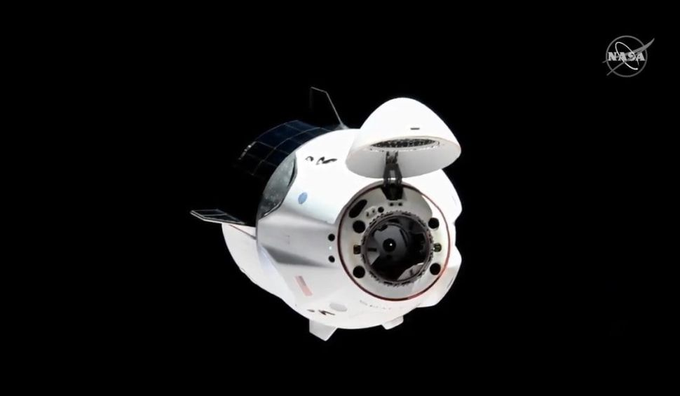 SpaceX Dragon's Astronauts Make History on the International Space Station