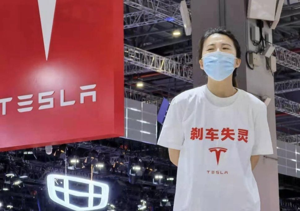 Tesla's Nightmare Week Starts With a Deadly Crash in Texas and Protest in China