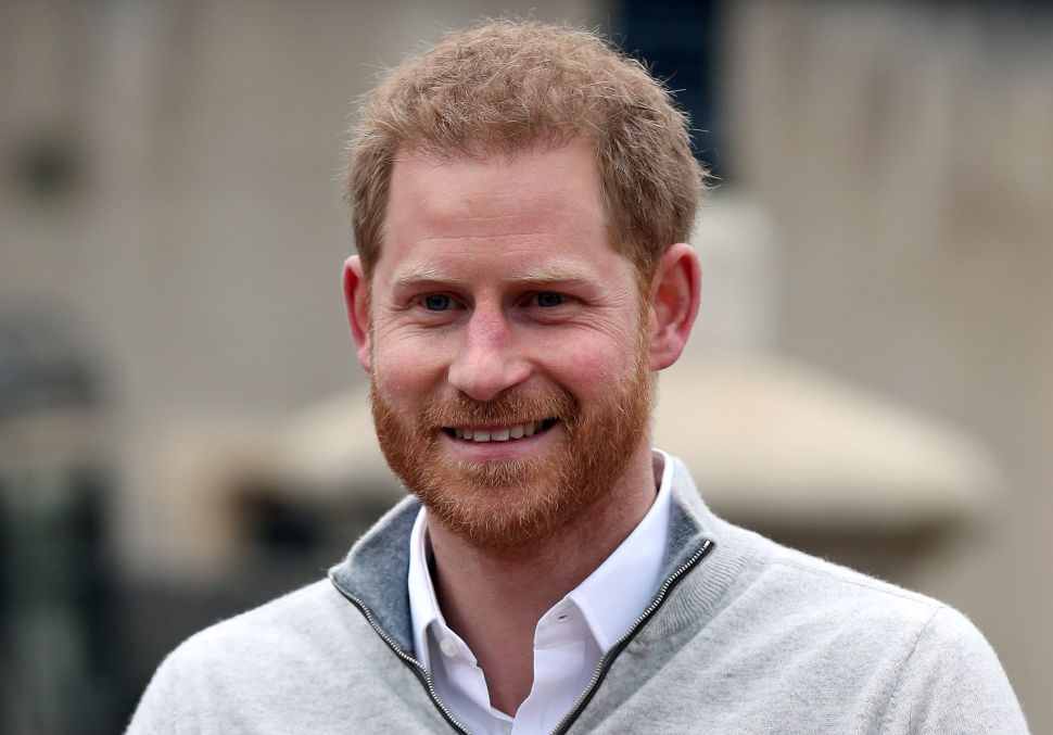 Prince Harry Is Already Back in California