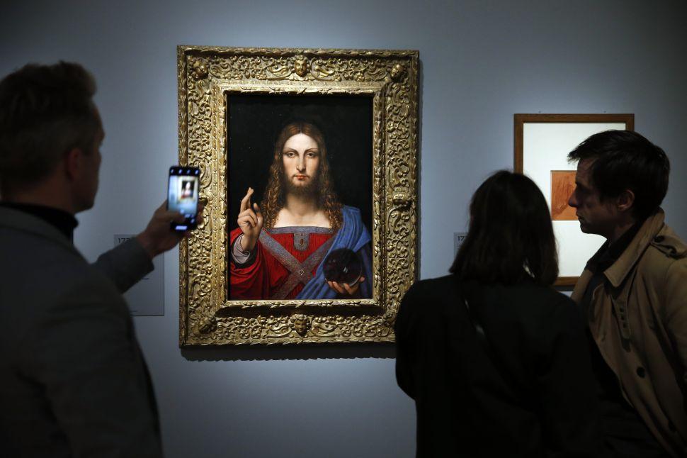 An NFT Version of Leonardo da Vinci's 'Salvator Mundi' Will Be Auctioned Off Soon