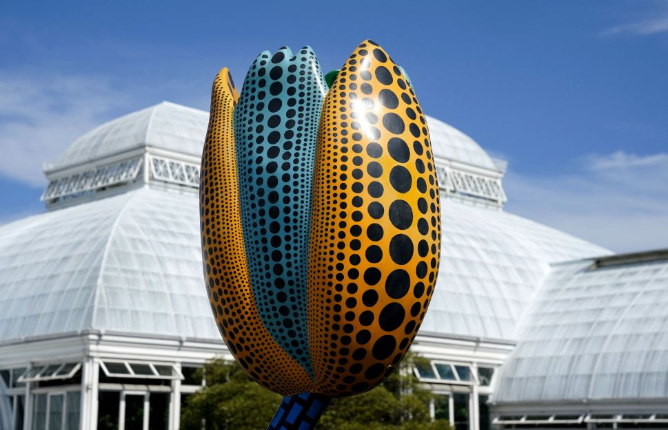 Yayoi Kusama's New York Botanical Garden Exhibition is All About Springtime Optimism