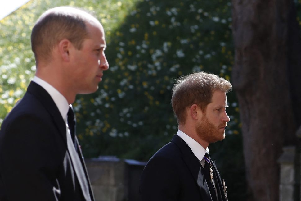 Prince Harry Spoke Privately With His Family for Hours After Prince Philip's Funeral