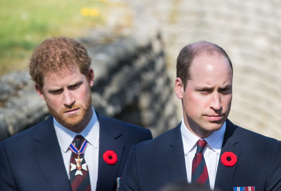 Prince William and Prince Harry's First Post-Interview Talk Did Not Go Well