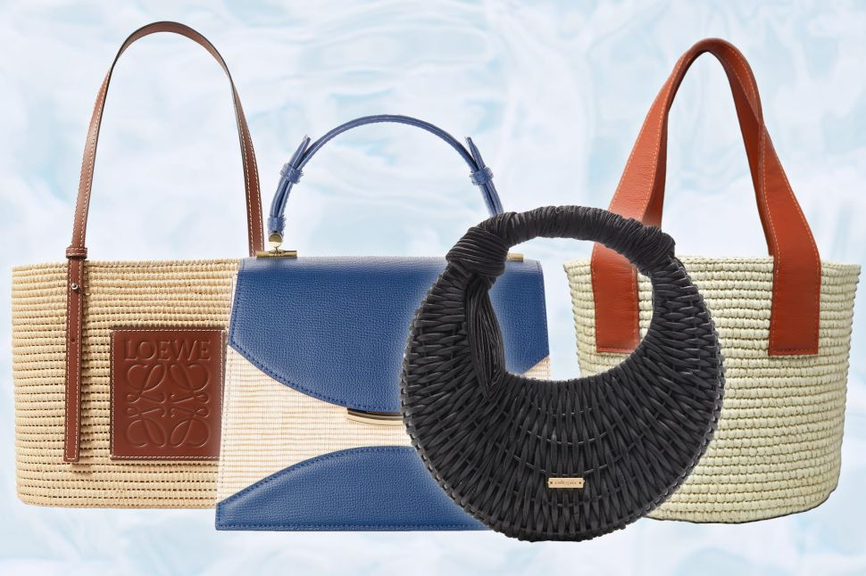 The Stylish Straw Bags to Update Your Warm Weather Wardrobe