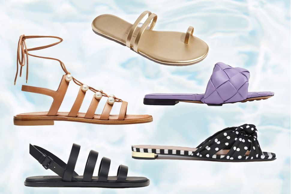 The Stylish and Comfortable Flat Sandals to Elevate Your Summer Wardrobe