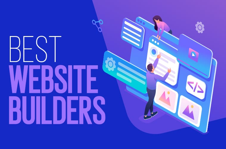 9 Best Website Builders in 2021: Blogs, Single Page Sites, Businesses & More!