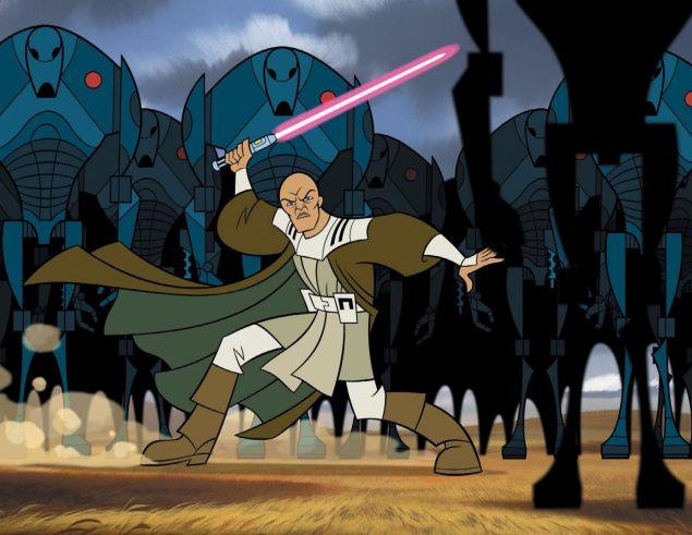 mace windu genndy tartakovsky star wars clone wars