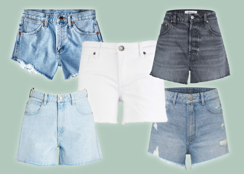 All of the Most Stylish and Flattering Denim Shorts to Shop for Summer