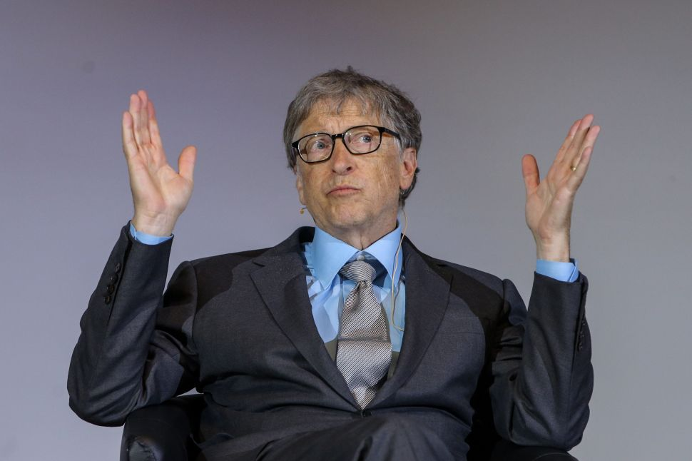 Bill Gates Pledges $2 Billion to Gender Equality After 'Office Bully' Accusation