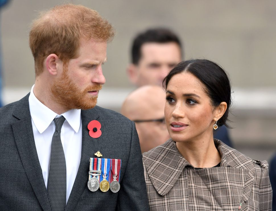 Prince Harry and Meghan Aren't Happy With the Paparazzi Photos of Archie