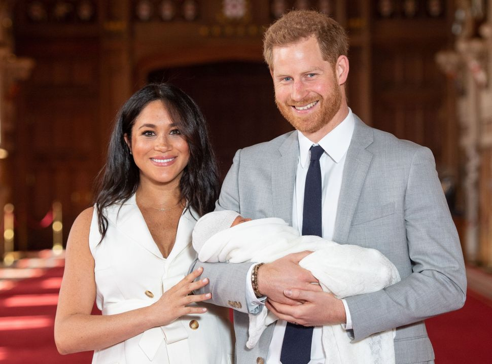 Prince Harry and Meghan Organized a COVID-19 Vaccine Fundraiser for Archie's Birthday