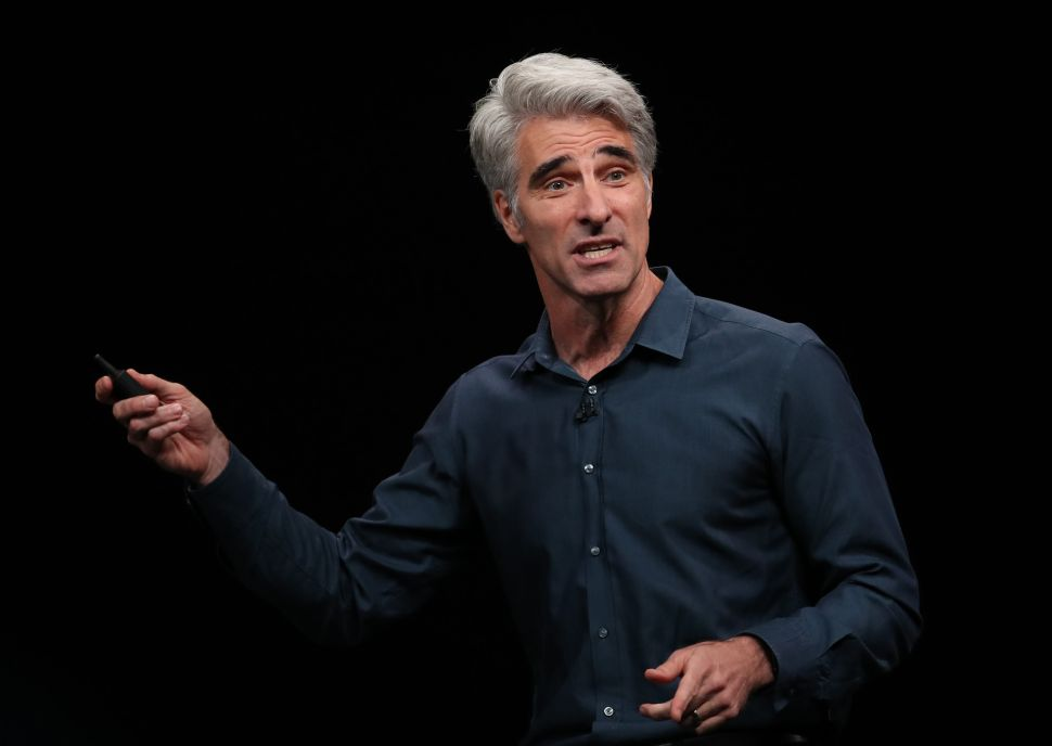 Even Craig Federighi, Apple's Head of Software, Thinks Malware on Mac Is Unacceptable