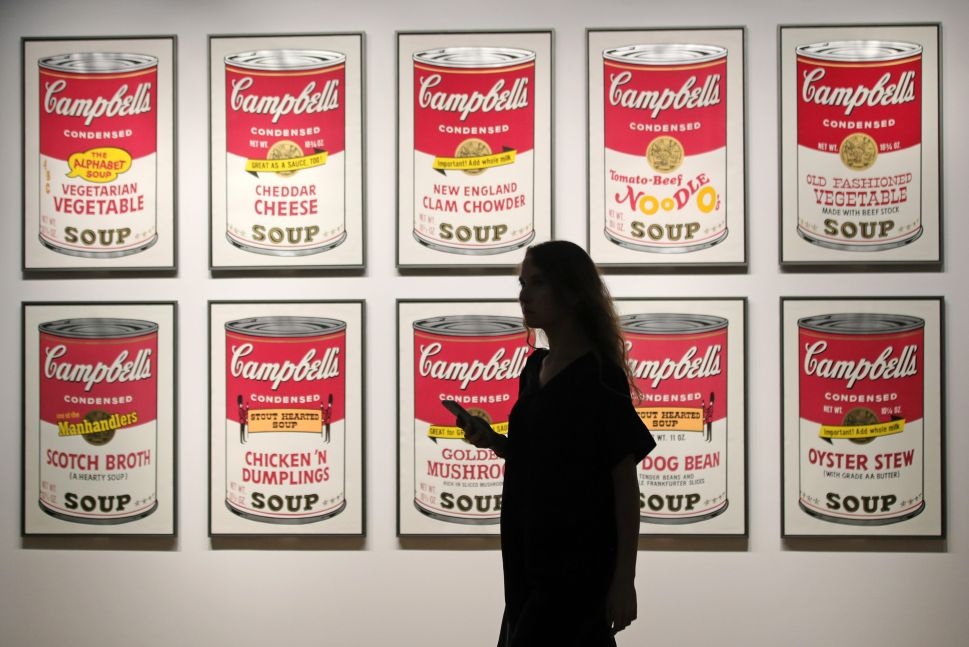 A Lithograph of Andy Warhol's Iconic Campbell's Soup Can Was Stolen in Manhattan